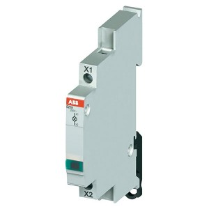 Лампа индикации ABB E219-D220 зеленая 60-220В DC постоянного тока 0,5 модуля