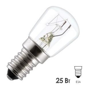 Лампа для духовых шкафов GE OVEN 25W CL 300°С d22 E14 прозрачная