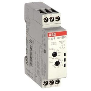 Реле времени ABB CT-EBD.12 (мигание с нач.импульса) 24-48B DC, 24-240B AC (7 диапаз.0,05с..100ч) 1ПК
