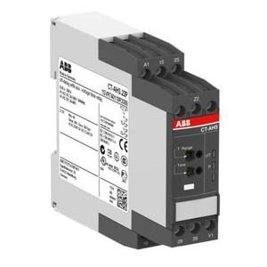 Реле времени CT-AHS.22P (задержка на отключ.) 24-240B AC, 24-48B DC, 0.05с..300ч, 2ПК, пружинные кле