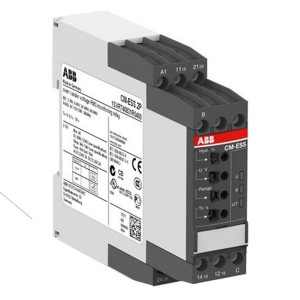 Однофазное реле контроля напряжения CM-ESS.2P (диапазоны измерения 3- 30В, 6-60В, 30-300В, 60-600 AC