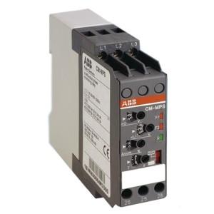 Реле контроля CM-MPS.11P с контр нуля, Umin/Umax3х90-130В/120-170BAC, 2ПК, пружинные клеммы