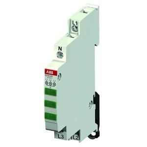 Лампа индикации ABB E219-3D 3 светодиода зеленые 415-250В AC переменного тока 0,5 модуля