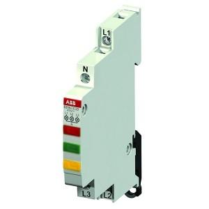Лампа индикации ABB E219-3EDC 3 светодиода желтый/зеленый/красный 415-250В AC переменного тока 0,5 м
