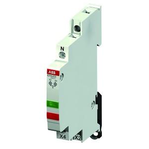 Лампа индикации ABB E219-2CD 2 светодиода зеленый/красный 115-250В AC переменного тока 0,5 модуля