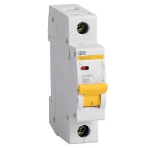 Автоматический выключатель ВА47-29 1Р  6А 4,5кА характеристика С ИЭК (автомат)