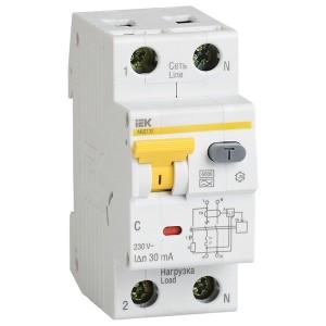 Дифференциальный автомат АВДТ 32 C10 30мА тип А ИЭК
