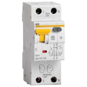 Дифференциальный автомат АВДТ 32 C40 100мА тип А ИЭК