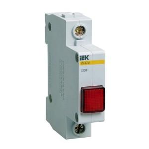 Сигнальная лампа ЛС-47М 220В красная (LED-матрица) ИЭК