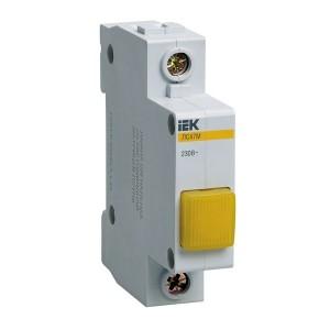Сигнальная лампа ЛС-47М 220В желтая (LED-матрица) ИЭК