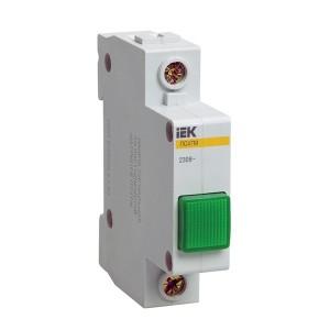 Сигнальная лампа ЛС-47М 220В зеленая (LED-матрица) ИЭК