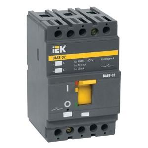 Автоматический выключатель ВА88-32  3Р  125А  25кА  ИЭК (автомат)