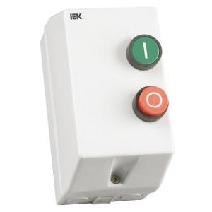Контактор КМИ11860 18А в оболочке Ue380В/АС3  IP54 ИЭК