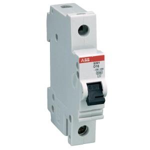 Автоматический выключатель 1-полюсный ABB S201 D16 (автомат)