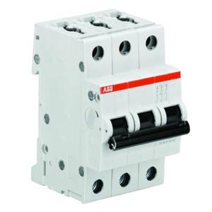 Автоматический выключатель 3-полюсный ABB S203 D16 (автомат)