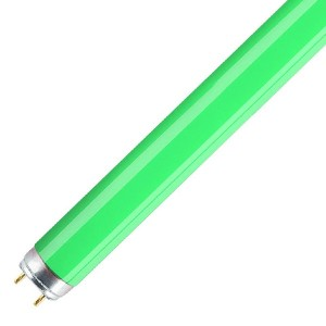 Люминесцентная лампа T8 Osram L 18 W/66 G13, 590 mm, зеленая