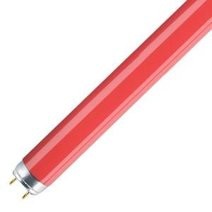 Люминесцентная лампа T8 Osram L 36 W/60 G13, 1200 mm, красная