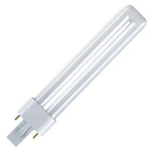 Лампа в ловушки для насекомых Osram Dulux S BLUE UVA 9W/78 G23 1.7W 350-435nm сушка гель-лак-полимер