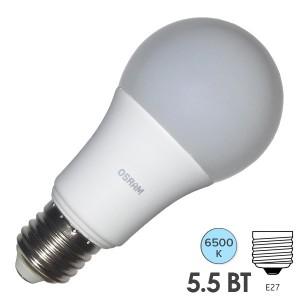 Лампа светодиодная Osram LED CLAS A FR 40 5,5W/865 240° 500lm 220V E27 холодный свет