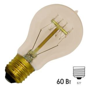 Ретро лампа груша FL-Vintage PS60 60W E27 220V D60х108mm