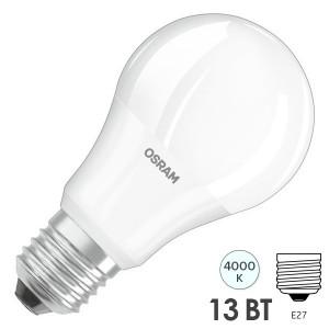 Лампа светодиодная Osram LED CLAS A FR 150 13W/840 240° 1521lm 220V E27 белый свет