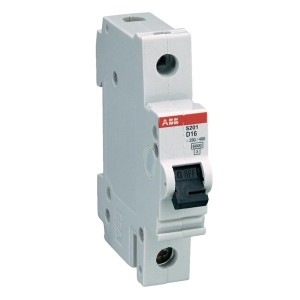Автоматический выключатель 1-полюсный ABB S201 D10 (автомат)