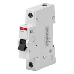 Автоматический выключатель ABB Basic M 1P 10A C 4,5кА, BMS411C10 (автомат)
