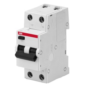 АВДТ ABB Basic M 1P+N 10А C 30мA, BMR415C10 Автоматический выключатель дифференциального тока (автомат)