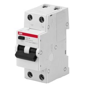 АВДТ ABB Basic M 1P+N 16А C 30мA, BMR415C16 Автоматический выключатель дифференциального тока (автомат)