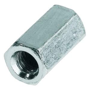 Гайка соединительная М16 удлиненная оцинкованная DIN6334