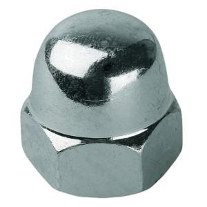 Гайка колпачковая М5 оцинкованная DIN1587