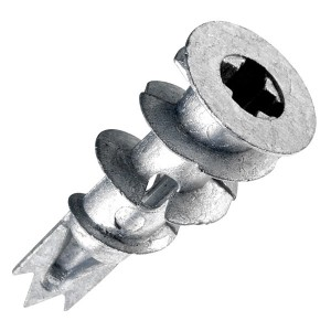 Дюбель DRIVA KLA M 5х15 для гипсокартона  металлические с шурупом (упаковка 100шт)