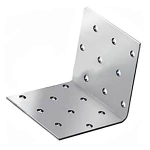Уголок крепежный равносторонний 40х40x20х2,0мм оцинкованный