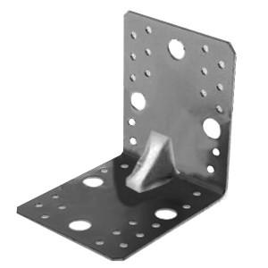 Уголок крепежный оцинкованный усиленный 105х105х90х2,0мм