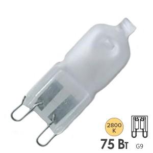 Лампа галогенная капсульная Osram 66675 AM HALOPIN 75W 1050lm 230V G9 (матовая)