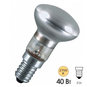 Лампа зеркальная General Electric R50 40W E14 230V D50mm