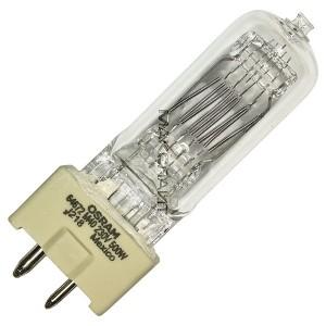 Лампа специальная галогенная Osram 64672 M/40 500W 230V GY9.5 2000h 2900K (6877P/GE 39621/S 0061733)