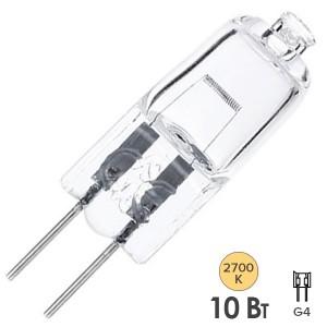 Лампа галогенная HC CL 10W 12V G4 прозрачная