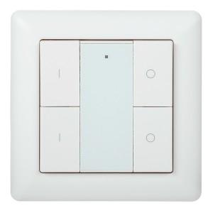 Панель управления DALI (2 адреса) 4 кнопки пластик белый IEK