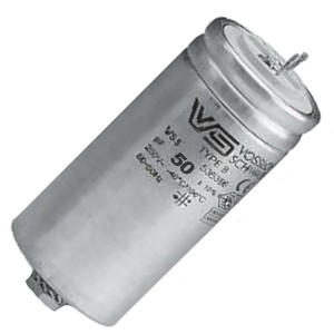 Конденсатор Vossloh-Schwabe WTB 50 мкФ 420V d55X103mm