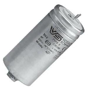 Конденсатор Vossloh-Schwabe WTB 60 мкФ 420V d55x128mm