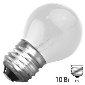 Лампа FOTON DECOR P45 CL 10W E27 CLEAR 230V ПРОЗРАЧНАЯ
