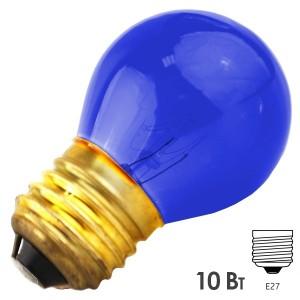 Лампа FOTON DECOR P45 CL 10W E27 230V BLUE/Синий