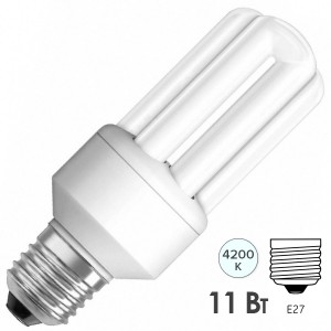 Лампа энергосберегающая Osram Dulux INT LL 11W/840 E27