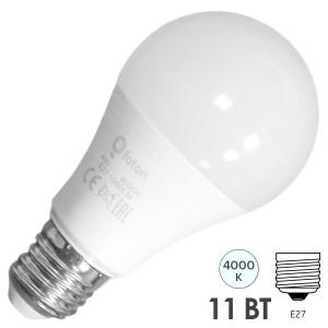 Лампа светодиодная FL-LED A60-MO 11W 12-24V AC/DC E27 4000K 1060Lm