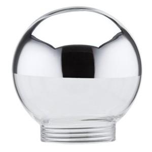 Плафон  Glas Globe 60 Kopfspiegel Silber