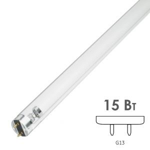 Лампа бактерицидная LightBest LBC 15W T8 G13 L438mm специальная безозоновая