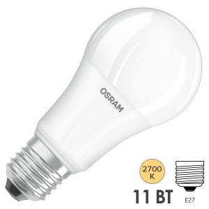 Лампа светодиодная Osram  PARATHOM CLASSIC А 75 11W 2700K DIM E27 1055lm d62x108mm