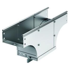 Ответвитель TDS Т-образный вертикальный основание 500 H80 в комплекте с крепежными элементами