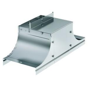 Крышка-ответвитель TSS основание 500 H80 в комплекте с крепежными элементами